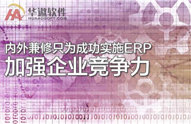 内外兼修只为成功实施ERP,加强企业竞争力