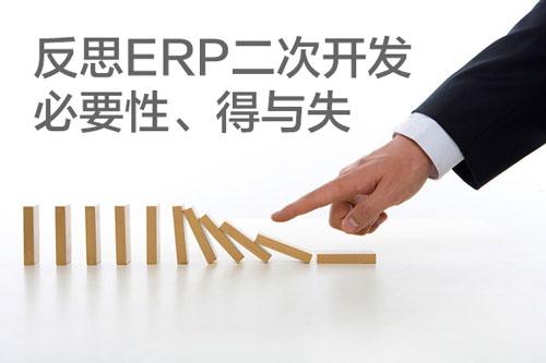 反思ERP二次开发的必要性、得与失